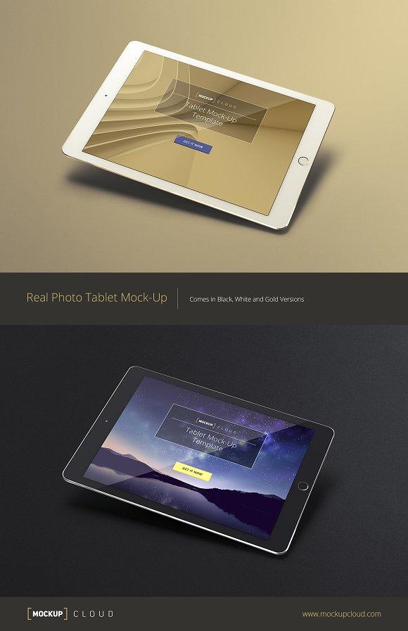 Tablet / iPad Mock-Up Set