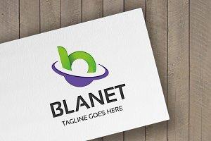 Blanet Letter B Logo