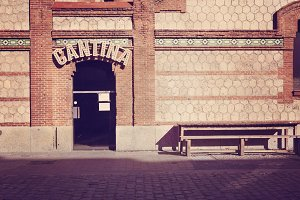 Cantina Bar in rio madrid recreation