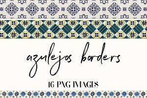 Azulejos Borders, Portuguese Tiles