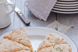 Cheese Scone with thyme
