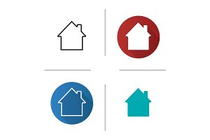 House, cottage, home, building icon