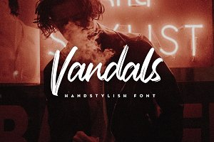 Vandals Handstylish Font