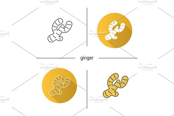 Ginger root icon