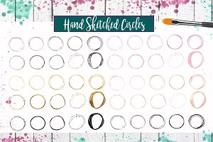 Hand Drawn Circle Graphics