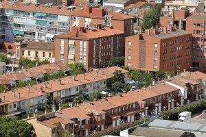 panorama of a neighborhood