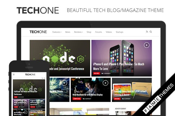 Techone - Tech Magazine Theme