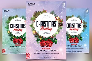 Christmas & Holiday - PSD Flyer