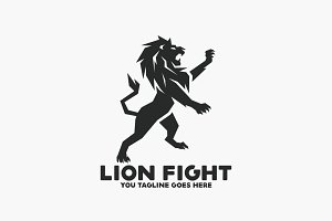 Lion Fight Logo