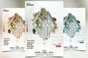Jingle Bells - Christmas PSD Flyer