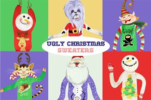 Ugly Christmas Sweaters Graphics