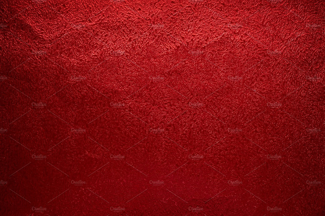 Red paper abstract gradient textured or background for concept valentine or christmas ~ Abstract