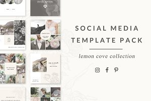 Social Media Templates - Lemon Cove