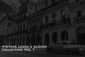 Vintage Logo & Badge Vol. 7