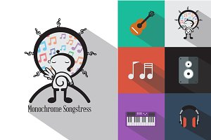 Monochrome Songstress