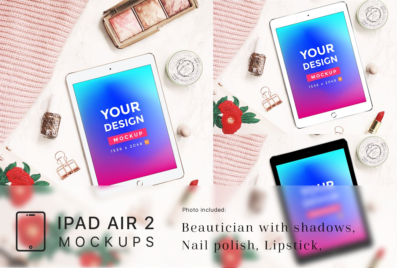 Ipad air 2 mockup collection product mockups creative market baditri Image collections