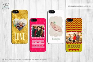 iPhone Case Collection - 4 templates