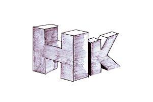 H and K Logo