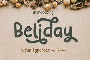Beliday - Fun Display Font