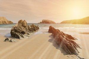 Beach of Arnia