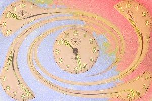 Spiral clocks