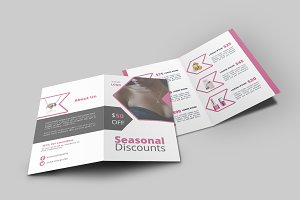 Product Promotion Bi-Fold Brochure