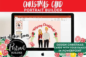 Christmas Portrait Builder Couple