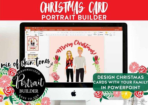 Christmas Portrait Builder Couple