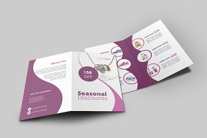 Products Promotion Bi-Fold Brochure