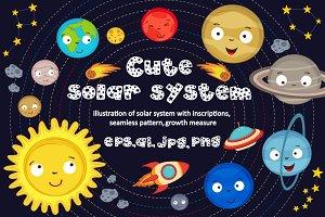 cute solar system
