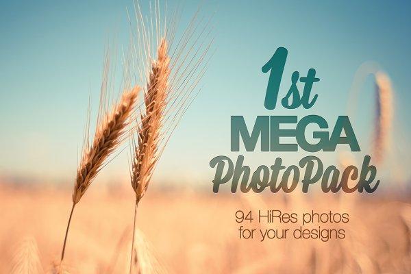 1st MEGA PhotoPack: 94 HiRes Photos…