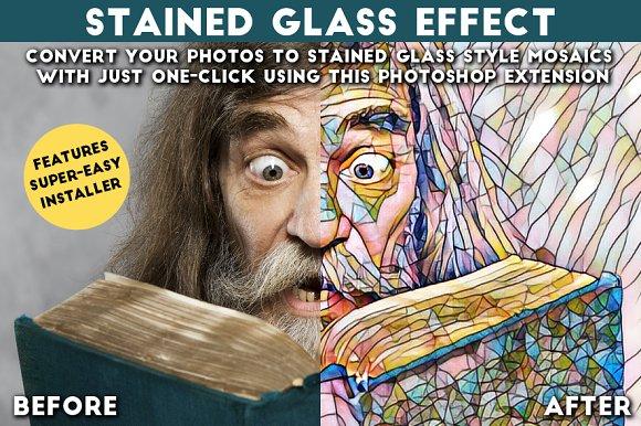 Ewstainedglass Actions Creative Market