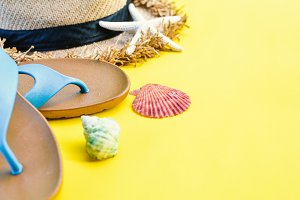 accessories travel to the sea