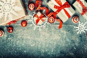 Christmas handmade gift boxes