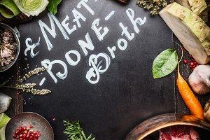 Ingredients for Meat Bone Broth