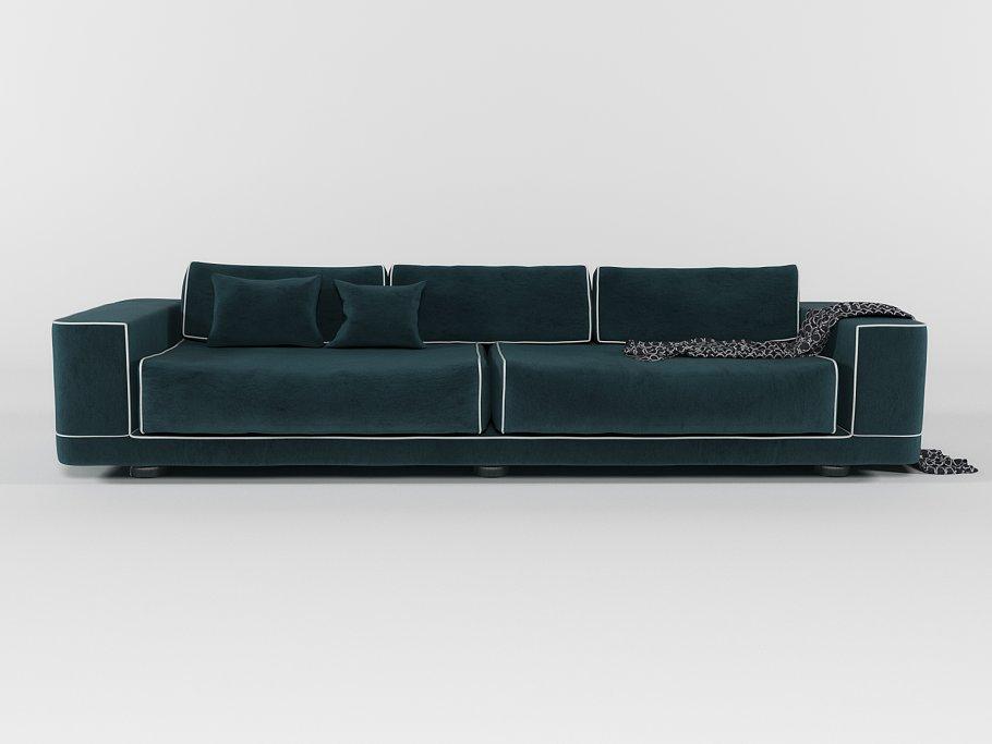 Fendi Velvet Sofa