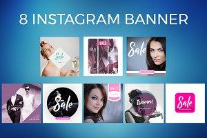 8 Instagram Banner