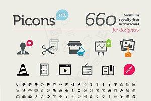 Picons Basic (1+2+3) icons