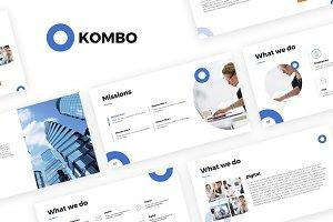 Kombo Powerpoint Template