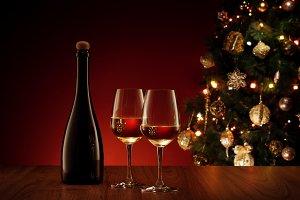 new year wine