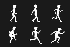 Motion activity figure icons