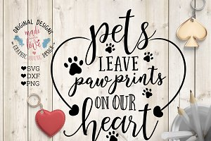 Pets Leave Paw Prints in Our Heart