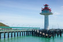 Lighthouse pier.
