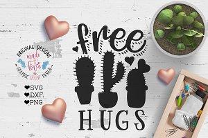 Free Hugs Cutting File