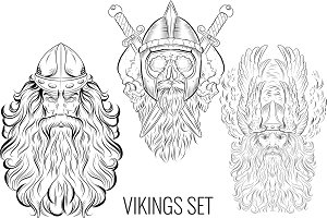 Viking design Set