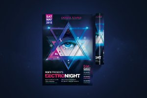 Electro Night Flyer