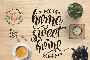 Home Sweet Home Cutting File