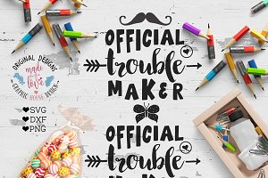 Official Trouble Maker Cutting File