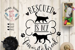 Rescue SVG DXF PNG Cutting File