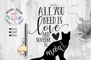 All you Need is Love Cutting File